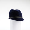 FALINE - FUR FELT CAP WITH LEATHER BAND GOLF  4500 NAVY 58