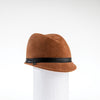 FALINE - FUR FELT CAP WITH LEATHER BAND GOLF  8900 RUST 58
