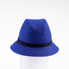 CAMEO - FUR FELT CLOCHE WITH BAND GOLF  6000 ROYAL 58