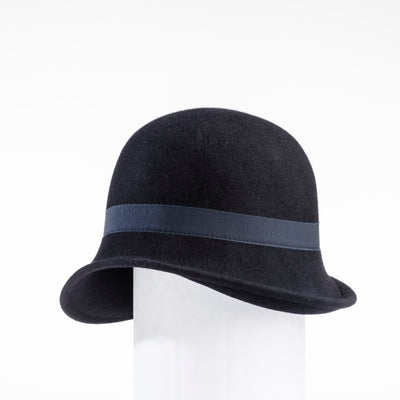 CHLORIS - FUR FELT CLASSIC CLOCHE GOLF  4500 NAVY 56