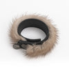 UPCYCLED FUR BRACELET GOLF  LIGHT MINK O/S