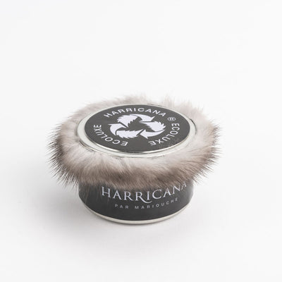 TRAVEL CANDLE WITH UPCYCLED FUR GOLF  ASSORTED SHORT HAIR O/S