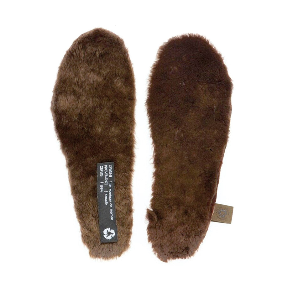 UPCYCLED FUR INSOLES - MEN