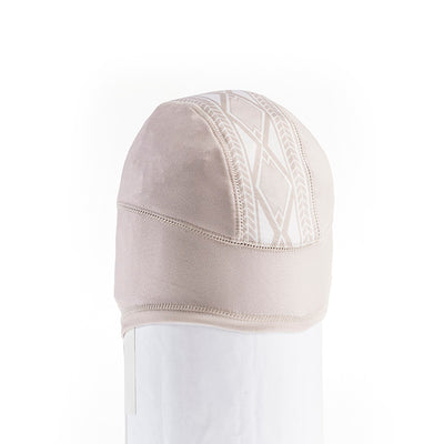 MIDDLE JACQUARD BEANIE BASELAYER GOLF  0900 BEIGE O/S