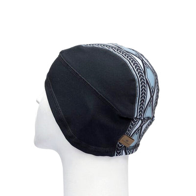 MIDDLE JACQUARD BEANIE BASELAYER GOLF  2179 BLACK-GREY O/S