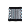 MIDDLE JACQUARD NECKWARMER GOLF  2179 BLACK-GREY O/S