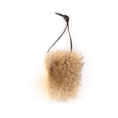 IPHONE POCKET CLASSIC - UPCYCLED FUR GOLF  2400 COYOTE O/S