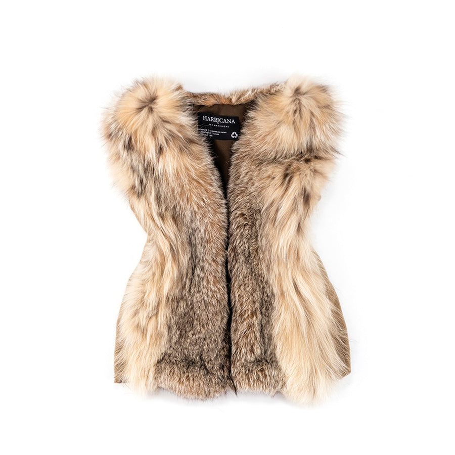 REUSED FUR VEST