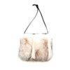 IPHONE POCKET HORIZONTAL WITH UPCYCLED FUR GOLF  0900 NORWEGIAN FOX O/S