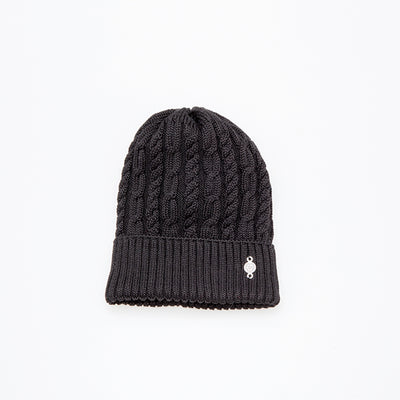 TORSADE BEANIE GOLF  2100 BLACK O/S