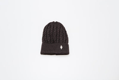TORSADE BEANIE GOLF  9500 BROWN O/S
