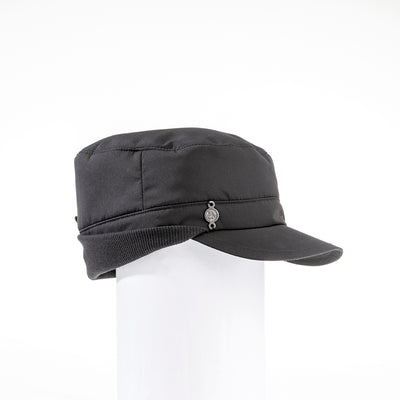 WINTER CAP GOLF  2100 BLACK O/S