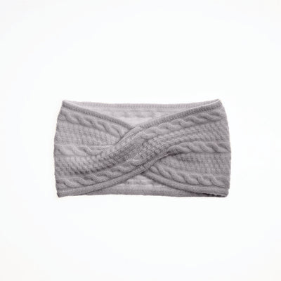 CASHMERE CABLE HEADBAND