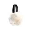 EARMUFFS WITH REUSED FUR FASHION  1300 NORWEGIAN FOX O/S