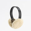 EARMUFFS WITH UPCYCLED FUR GOLF  1313 SHEEPSKIN O/S