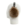 EARMUFFS WITH UPCYCLED FUR GOLF  4800 RACCOON O/S