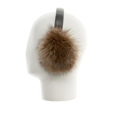 EARMUFFS WITH REUSED FUR FASHION  4800 RACCOON O/S