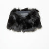 REUSED FUR TUBE GOLF  2100 BLACK FOX O/S