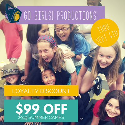 Go Girls Productions - Camp Pre-Order