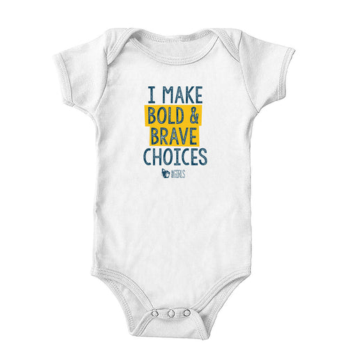 Bold and Brave Onesie