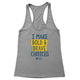 Bold and Brave Women's Racerback Tank