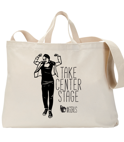 Take Center Stage feat Miriam Stahl Tote Bag