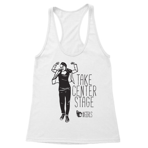 Take Center Stage feat Miriam Stahl Women's Racerback Tank
