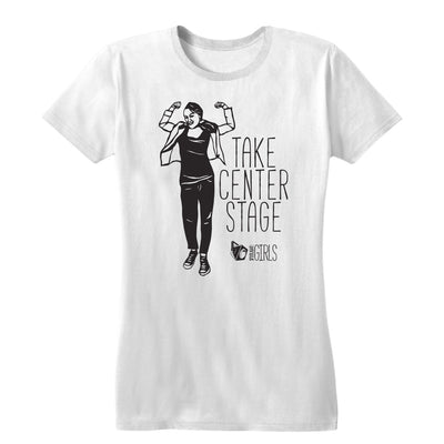 Take Center Stage feat Miriam Stahl Women's Tee