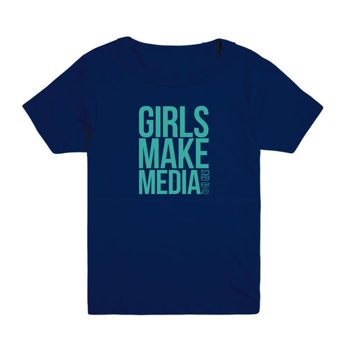 Girls Make Media Kid's Tee