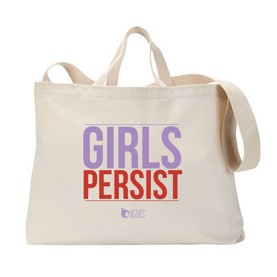 Girls Persist Tote Bag