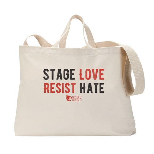Stage Love Tote Bag