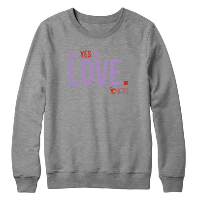 Yes to Love Crewneck