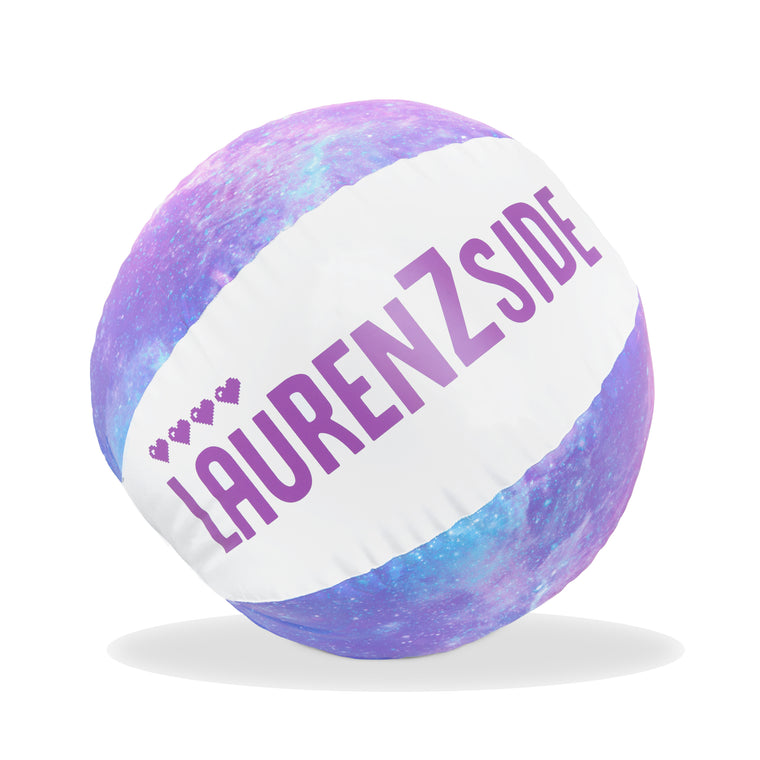 Lauren Z Side™  Galaxy Beach Ball