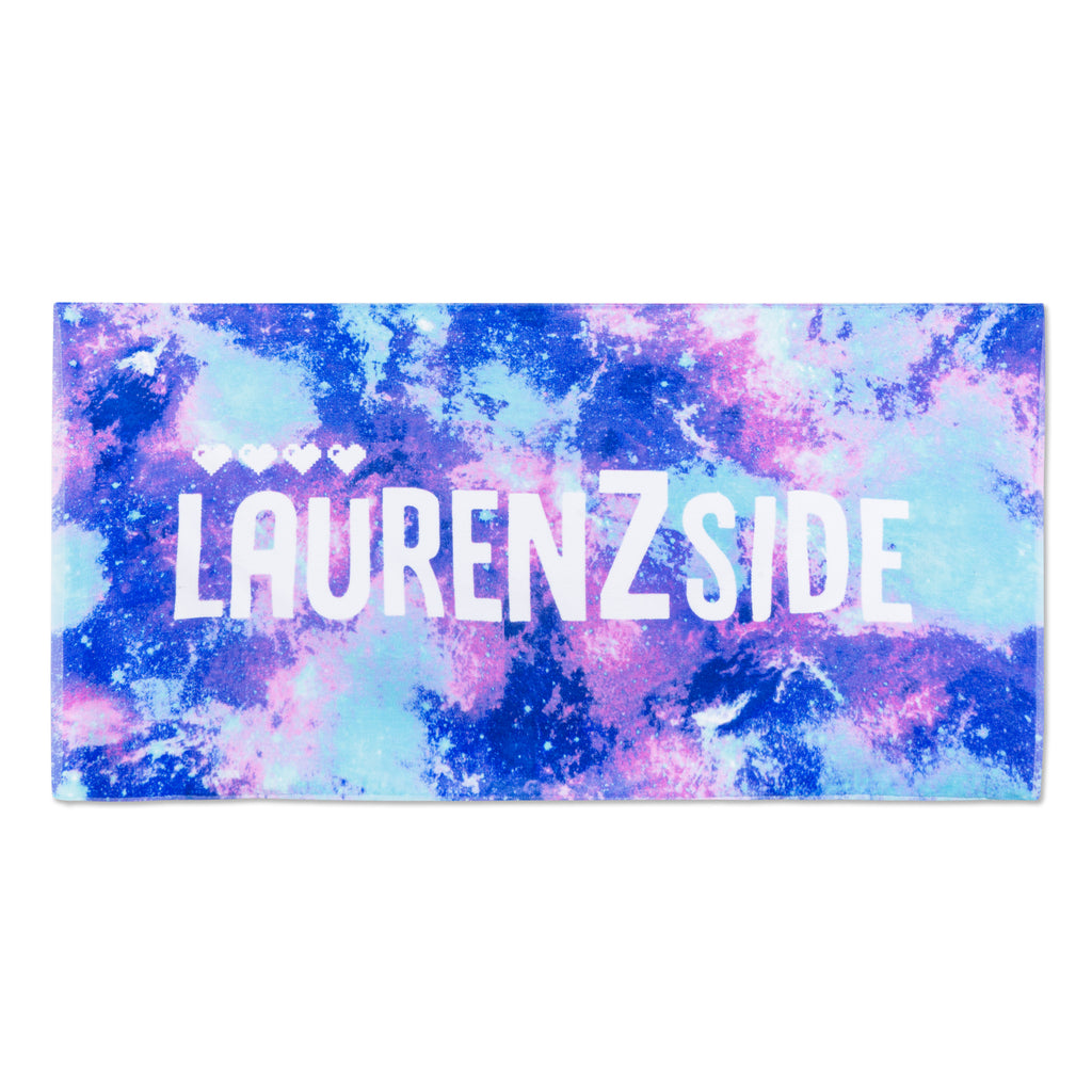 Lauren Z Side™  Galaxy Beach Towel