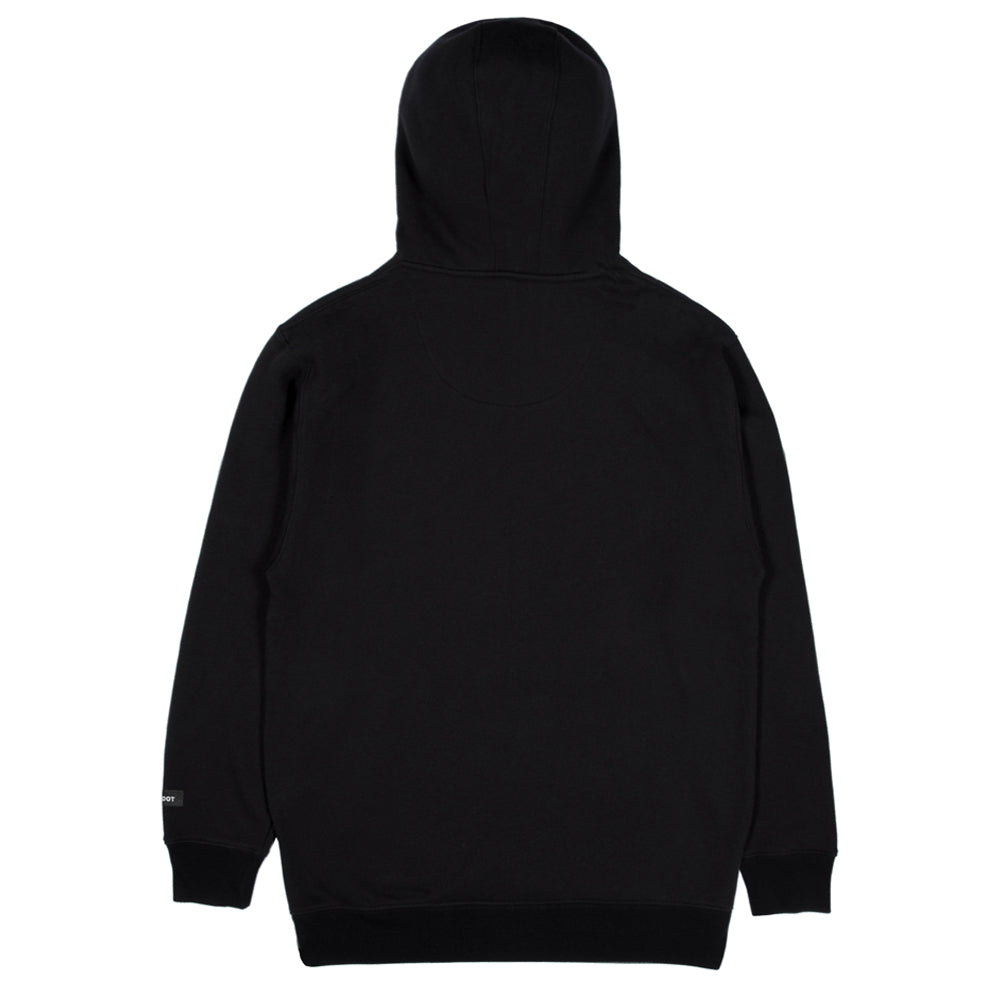 Lauren Z Side™  Unicorn Hoodie (Black)
