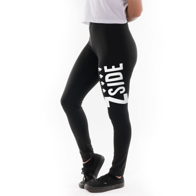 Lauren Z Side™  Limited Run Leggings (Black)