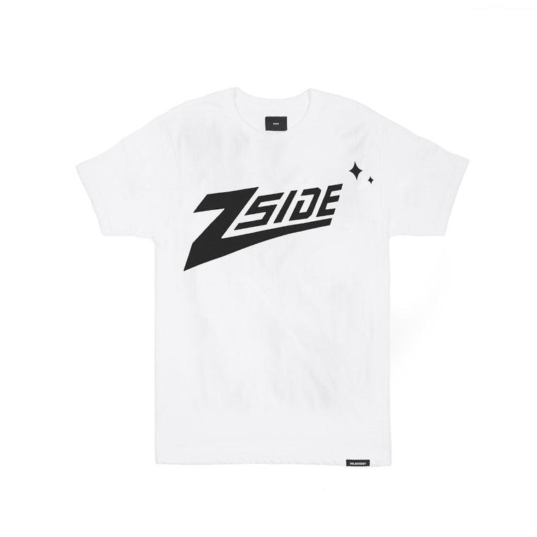 "Lauren Z Side™  ""Z-Side"" Youth Tee (White)"