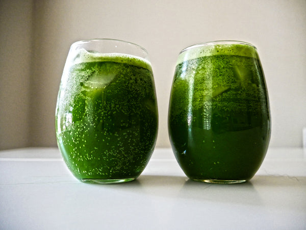 Bubbly & Refreshing Antioxidant-packed Matcha Sparkling Water!