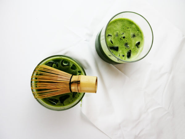 Refreshing & Skin-Rejuvenating MATCHA Coconut Water!!