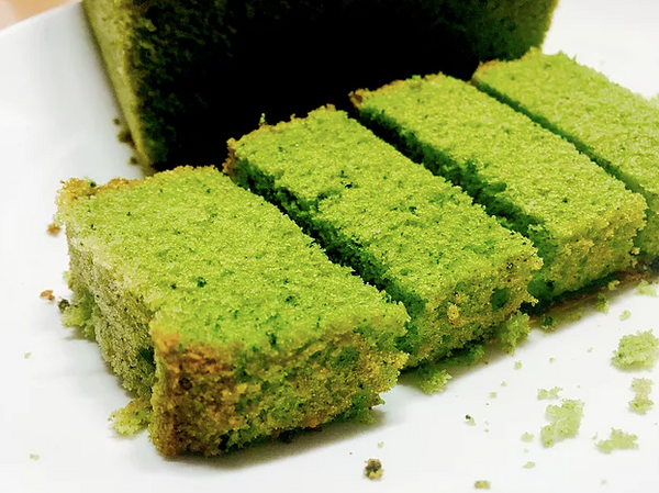 Healthy Matcha Cake With Creamy Frosting -- Gluten Free