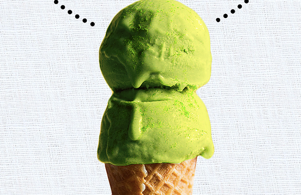 Rich & Creamy Avocado Matcha Ice Cream! (Dairy Free!)