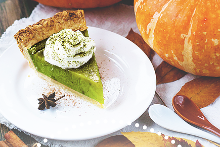 Thanksgiving Dessert Special: Matcha Pie