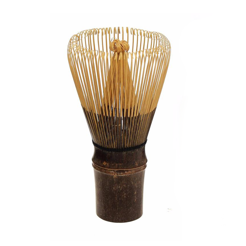 Handmade Tea Whisk - Dark Wood Chasen