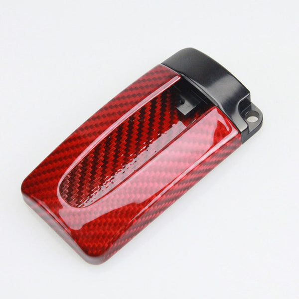 RED Carbon Fiber Key Fob case For Nissan GTR G-TR 370Z 350Z Maxima X-Trail Juke Murano Note Infiniti R35