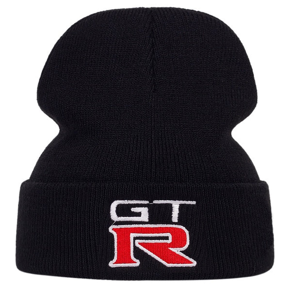 Nissan GTR Embroidered Winter ski Hat Beanie