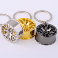 Wheel KeyChains! (Chrome/GOLD/Black Chrome)
