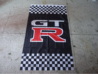 RARE Vertical GTR Flag Banner 3x5ft