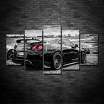 5 Piece GTR Wall Canvas's with Frames!