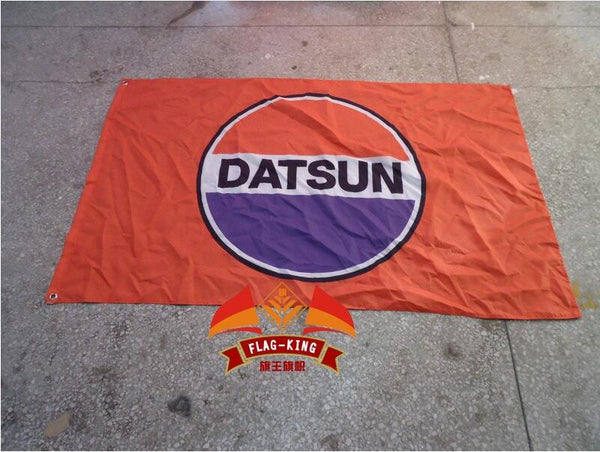 NISSAN DATSUN racing flag 3FTx5FT