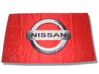 NISSAN 3x5ft Flag RED